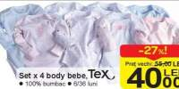 Set x 4 body bebe Tex