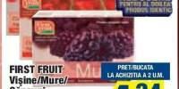 First Fruit Visine/ Mure/ Capsuni