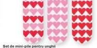 Set de mini pile pentru unghii