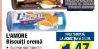 L'amore biscuiti crema