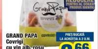 Grand Papa covrigi cu vin alb, rosu