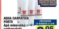 Aqua Carpatica Forte apa minerala carbonata
