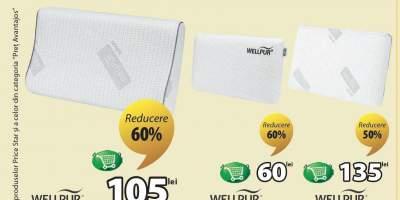 Reducere intre 30-60% la toate pernele WellPur