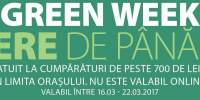 Green Week - reducere de pana la 60%