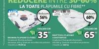 Reducere intre 30-60% la toate plapumile cu fibre