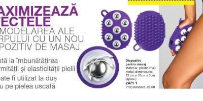 Dispozitiv pentru masaj