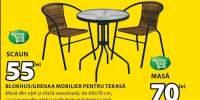 Mobilier pentru terasa Blokhus/Greena