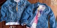 Geaca jeans copii Tex