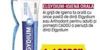 Pasta de dinti Elgydium - cadou o periuta de dinti