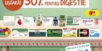 30% Reducere la medicamentele pentru digestie