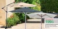 Umbrela pentru terasa