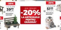 20% Reducere la articolele pentru gradina