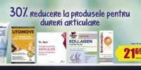 30% Reducere la produsele pentru dureri articulare
