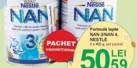 Formula lapte nan 3/nan 4