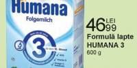 Formula lapte Humana 3