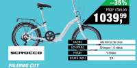 Bicicleta pliabila Palermo City Scirocco