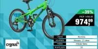 Bicicleta copii Dirt Rider Cygnus