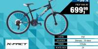 Bicicleta baieti tip MTB 24 inci Flash X-FACT