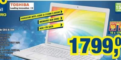 Laptop Toshiba Satellite C55-A-144