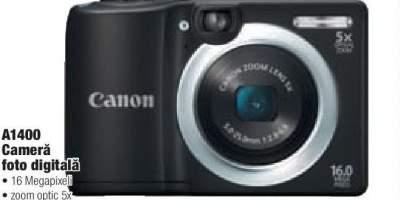 Camera foto digitala Canon A1400