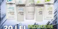 20 lei reducere la cumpararea pachetului complet Oxyance de ingrijire a tenului gras sau mixt