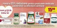 Pana la 25% reducere pentru produsele dedicate pacientilor cu afectiuni cardiace