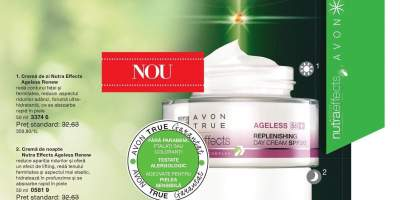 Crema de zi Avon True Nutra Effects Ageless SPF 20