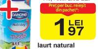 Iaurt natural de baut, Nutriday