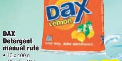 Dax detergent manula rufe