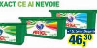 Ariel Pods detergent automat rufe 32 capsule