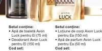 Set Avon Luck pentru el
