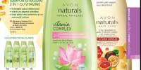 Sampon cu ingrediente naturale Avon Naturals