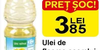 Ulei de floarea-soarelui Carrefour