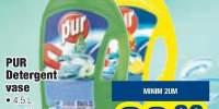 Pur detergent vase 4.5 L