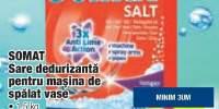 Somat sare dedurizanta pentru masina de spalat vase 1.5 kg
