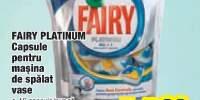 Fairy Platinum 40 capsule pentru masina de spalat vase