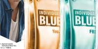 Apa de toaleta Individual Blue