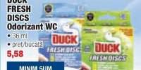 Duck Fresh Discs Odorizant Wc 36 ml