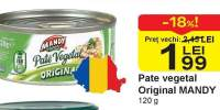 Pate vegetal original Mandy