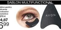 Sablon pentru aplicarea produselor cosmetice
