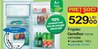 Frigider Carrefour Home CRT100W