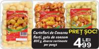 Cartofiori de Covasna fierti, gata de consum