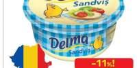 Margarina Delma Sandvis