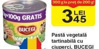 Pasta vegetala tartinabila cu ciuperci