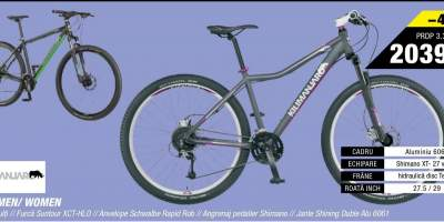 Bicicleta MTB Pro men/women