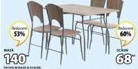 Set dining masa si scaune Thyholm