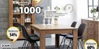 Set masa si scaune Vedde si Klarup
