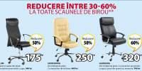 Reducere intre 30 - 60% la toate scaunele de birou