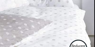 Lenjerie de pat cu cearsaf Biana