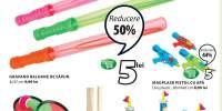 Reducere intre 25-50% la toate jocurile si jucariile de vara